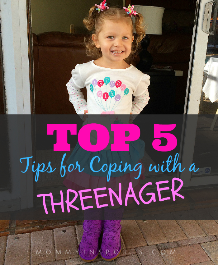 Top 5 Tips for Coping with a Threenager