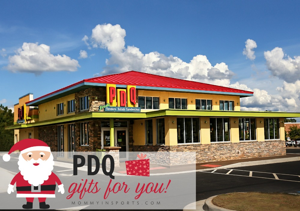 Enjoy the season of giving at PDQ! All month long they have gifts for yoU!