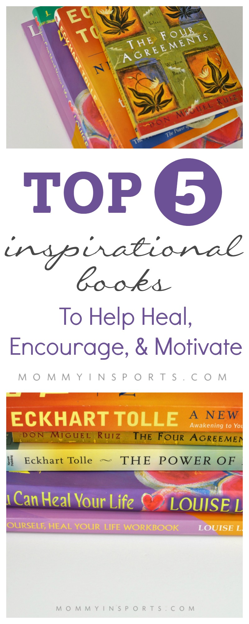 Feel like you're in a rut, but not sure where to turn? When life gets chaotic, it's time to delve within. Try one of these top 5 inspirational books!