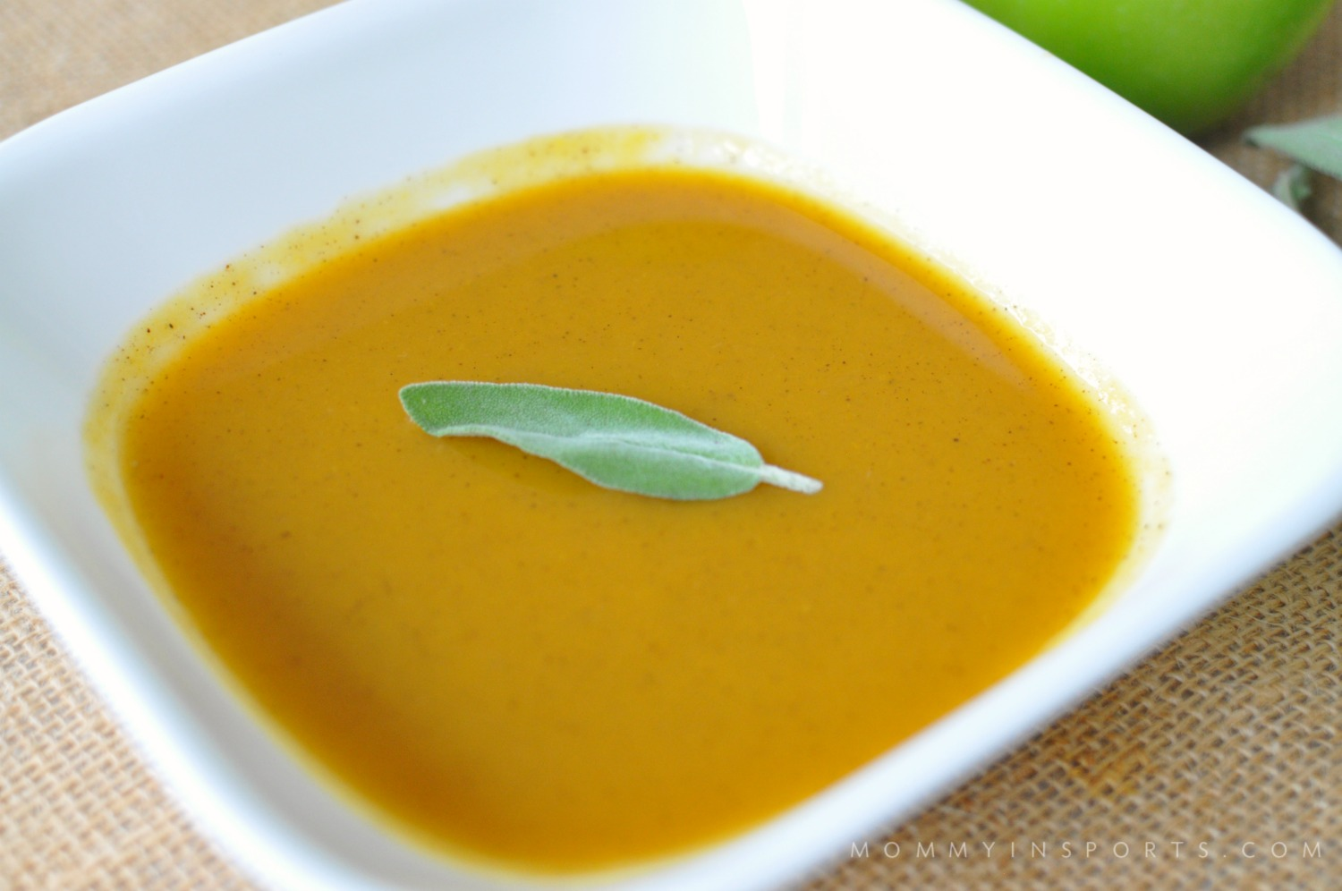 Looking for a dairy-free & paleo butternut squash soup that silky, creamy, and naturally sweet? You won't be disappointed in this perfect paleo butternut squash soup recipe!