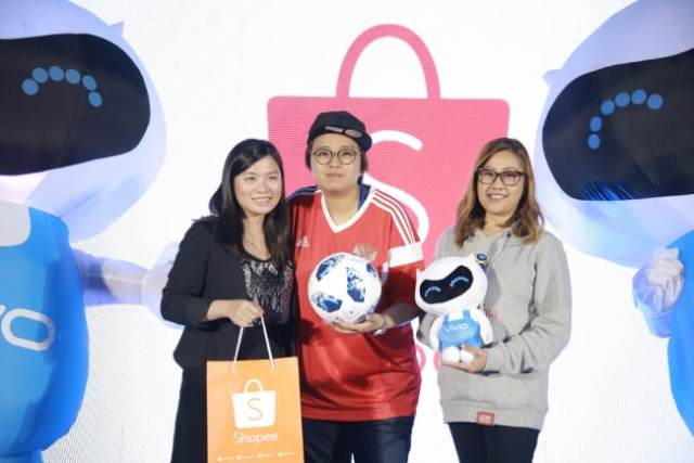 Vivo Philippines partner with Shopee Philippines