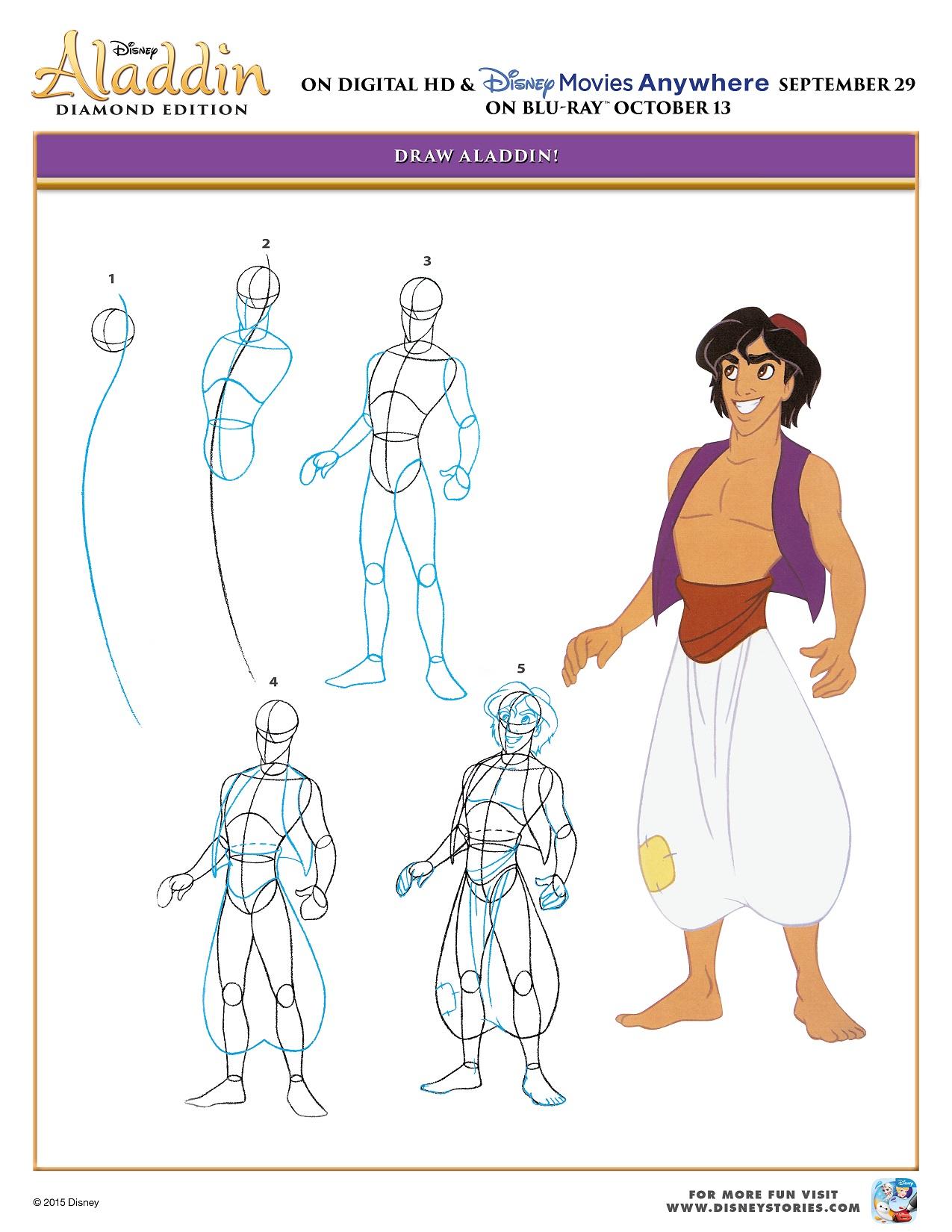 Aladdin Activity Sheet Sept 29 16