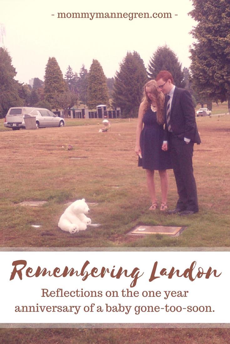 Remembering Landon Anniversary