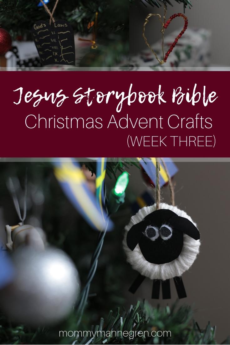 Jesus Storybook Bible: Christmas Advent Crafts Week 3