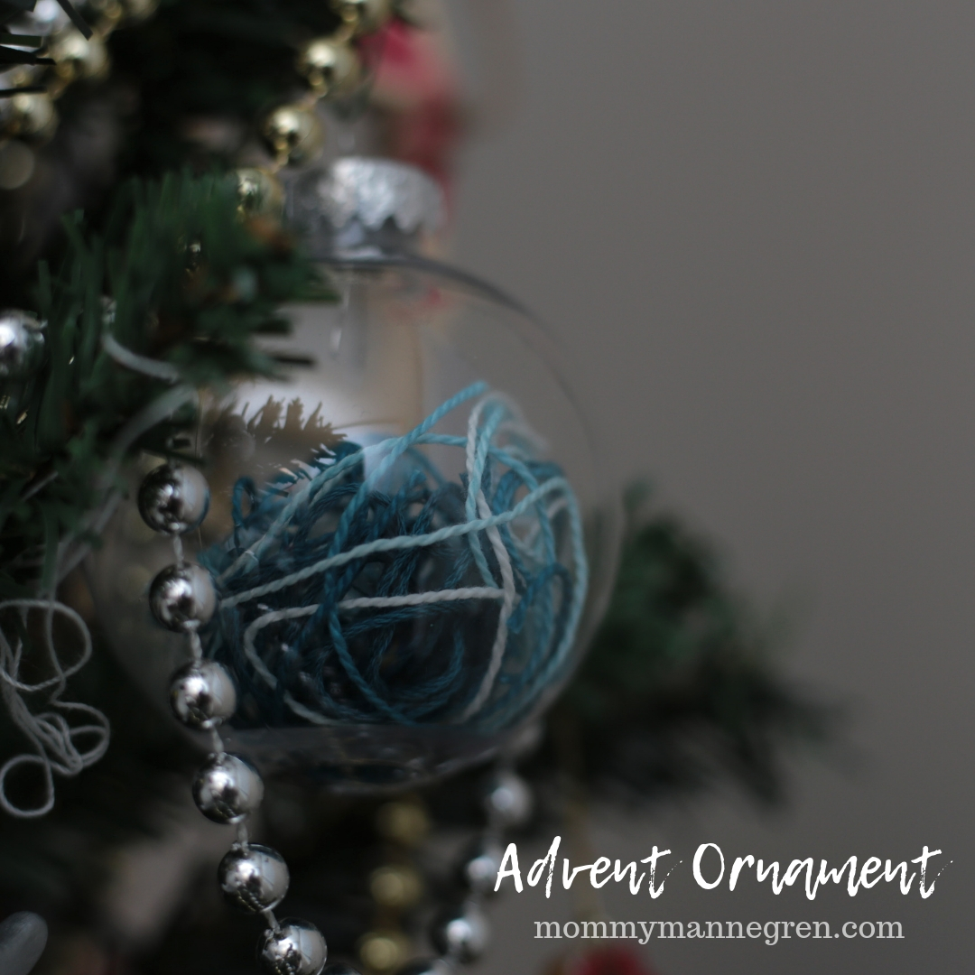 Advent Ornament: Parting of the Red Sea
