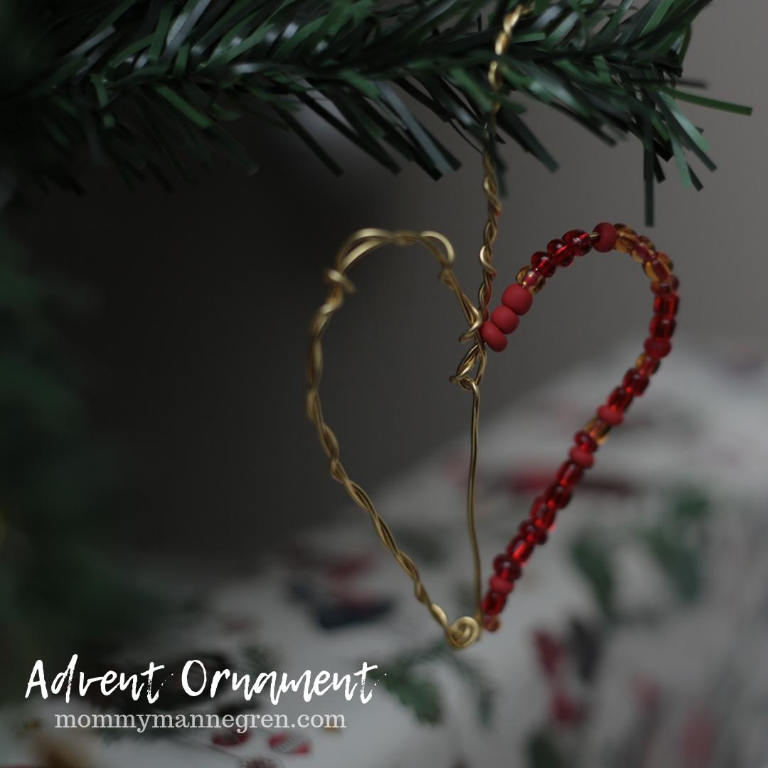 Advent Ornament: Heart