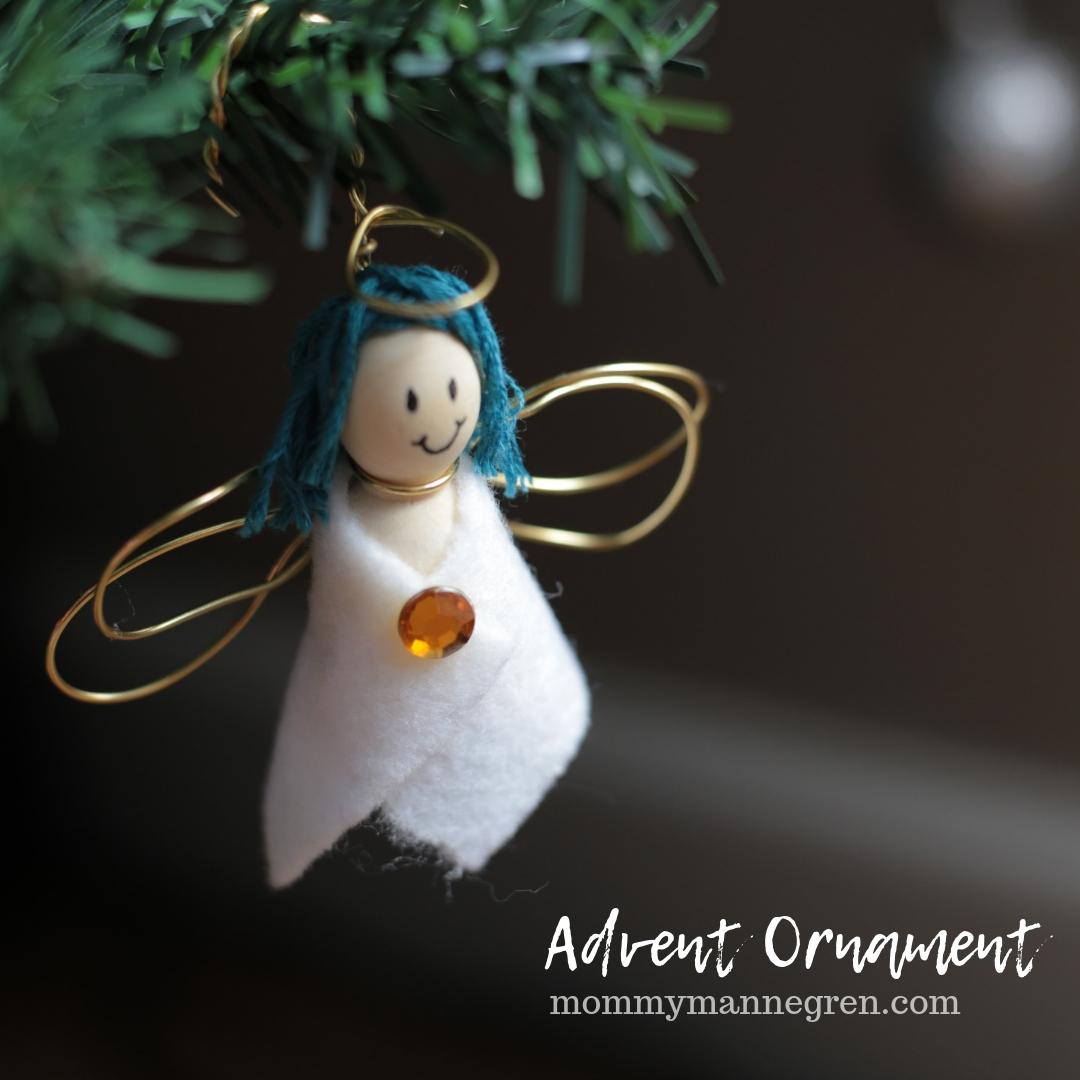 Advent Ornament: Angel