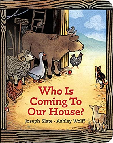 Suggestion for advent calendar: Who Is Coming to Our House children's book