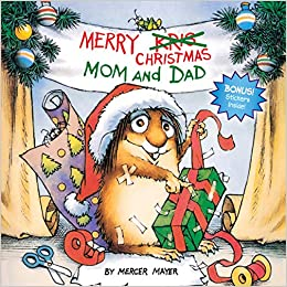 Suggestion for children's book advent calendar: Merry Christmas Mom and Dad book