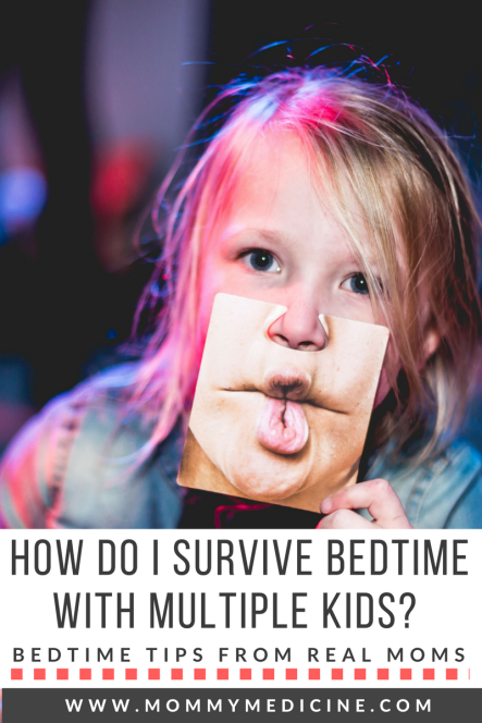 how to survive bedtime with multiple kids