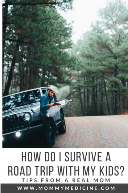 How do I survive a road trip with my kids?
