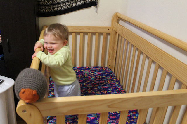 Help! My Toddler is Climbing Out of His Crib! What do I do?
