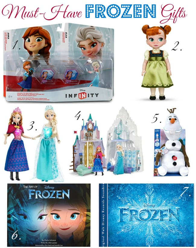 Disneys FROZEN Must Have Holiday Toys Amp Gifts