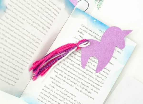 printable unicorn bookmarks # 28