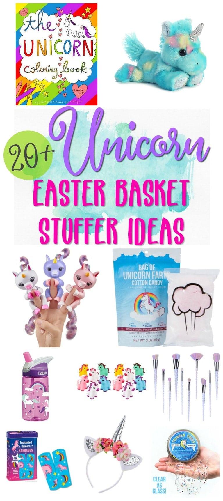 20 unicorn easter basket