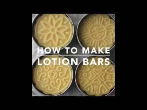 Lotion Bar Recipe For Nourished Skin