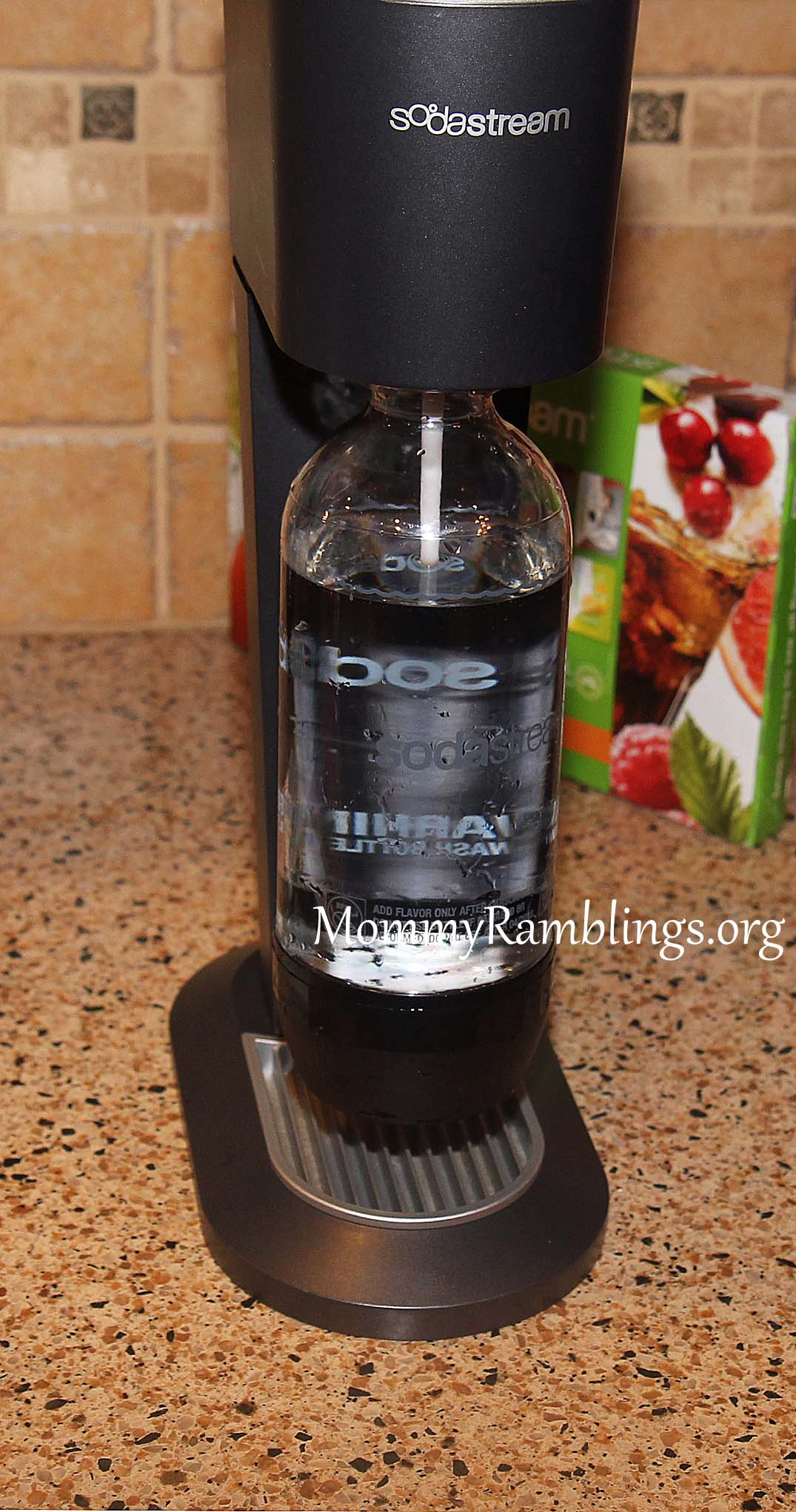 Sodastream Home Seltzer And Soda Maker Review Giveaway