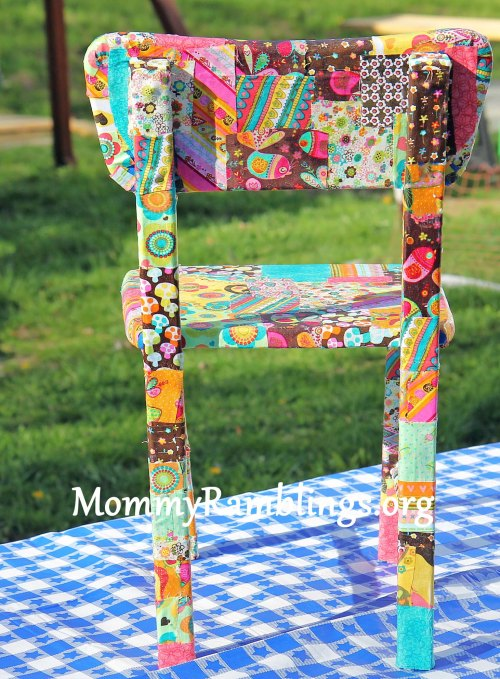 decoupage chair 1