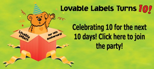 Lovable Labels Annivarsary Sale