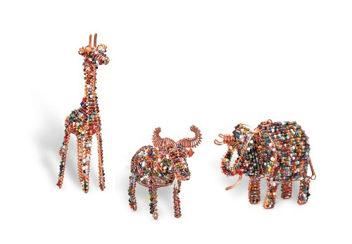 World Vision Animal Trio Ornaments #WorldVision