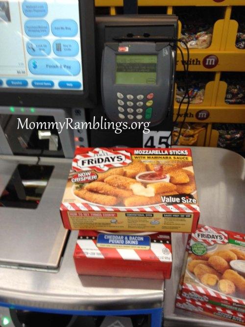 Walmart- Store- T.G.I Friday's- Frozen- Snacks- #TGIFGameDay- #Cbias- #Shop