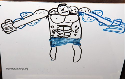 Ethan's Muscle Man!!!