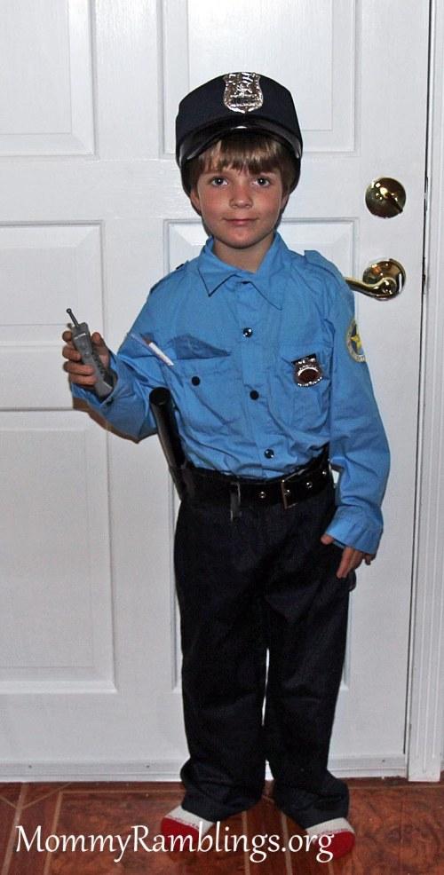 Police costume 1
