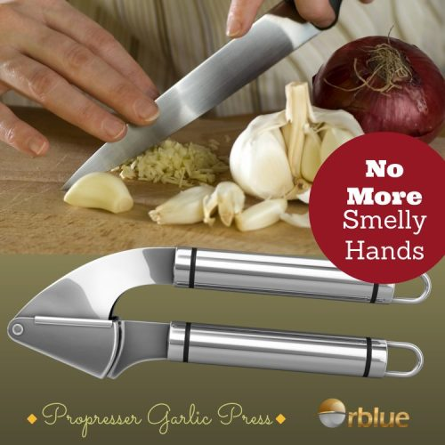 Garlic Press No More Smelly Hands