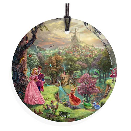 Disney-Sleeping-Beauty-Thomas-Kinkade-Glass-Print