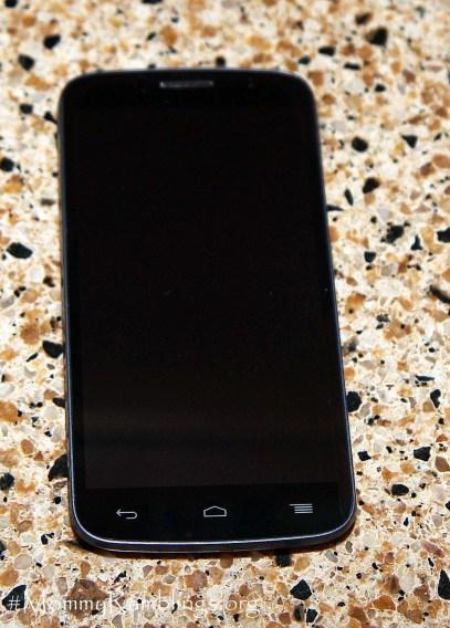 alcatel fierce 2 smartphone front