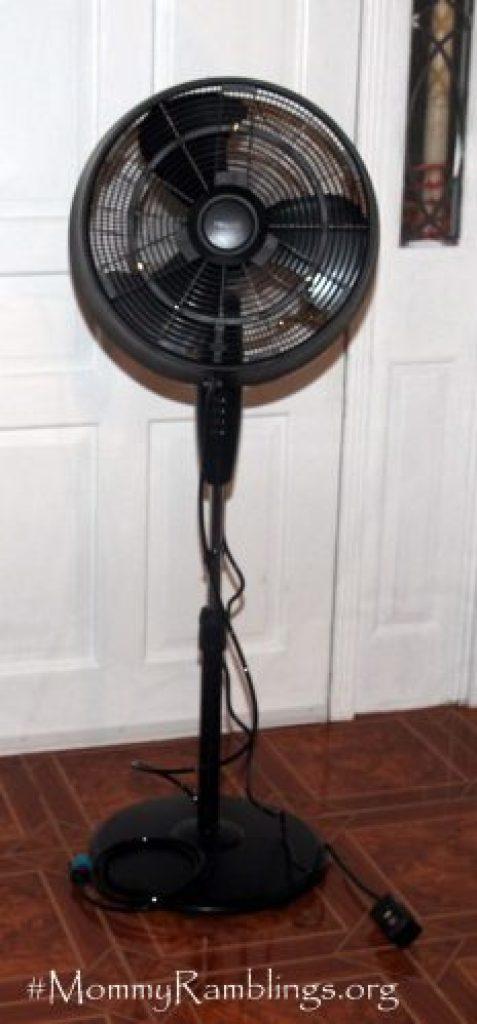 NewAir Cool Mist Fan Inside