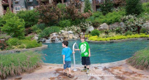 biosphere outdoor pool