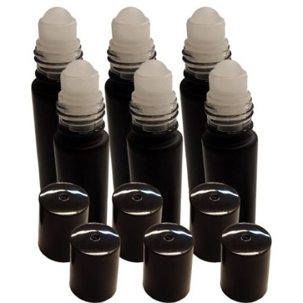 black roll on bottles