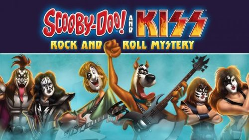 scooby Doo! Kiss Rock and Roll Mystery Blu-Ray Giveaway
