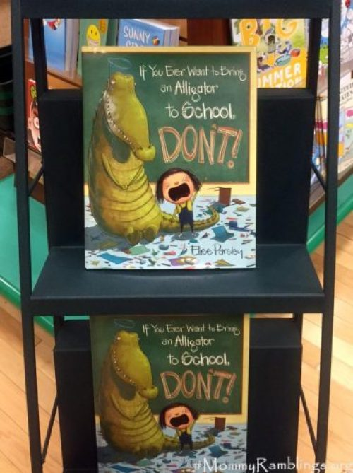 Barnes and Noble Alligator book