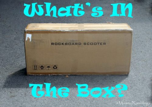 rockbaord scooter box