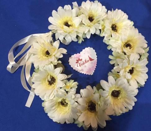 daisy wreath 2
