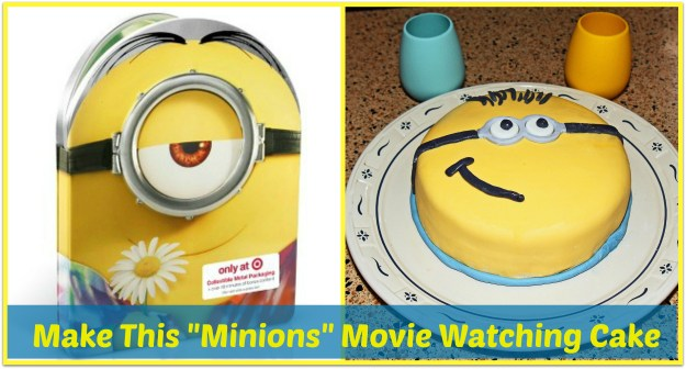 minions movie watching collage
