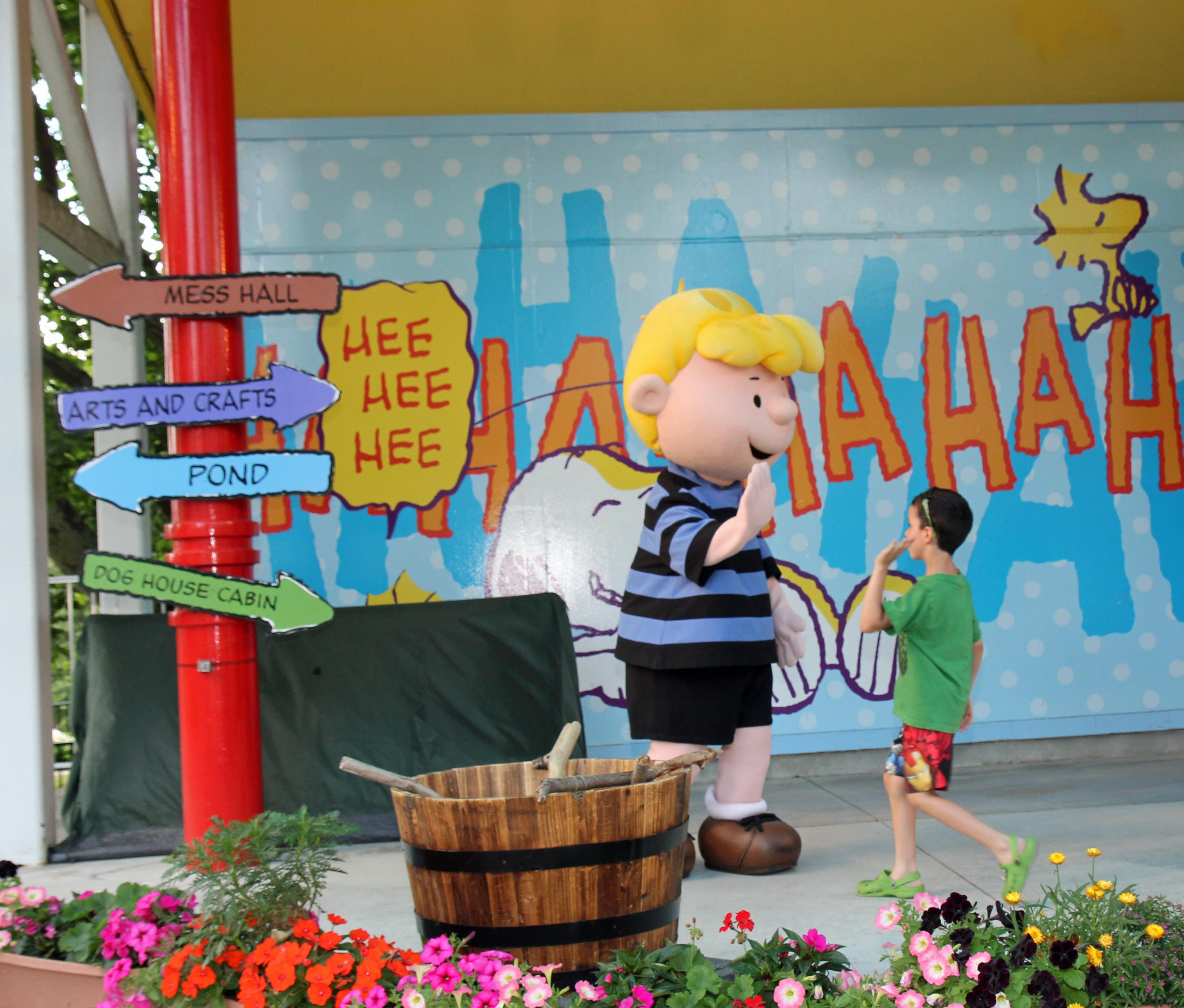 Planet Snoopy Is Full Of Fun Rides Like The Kite