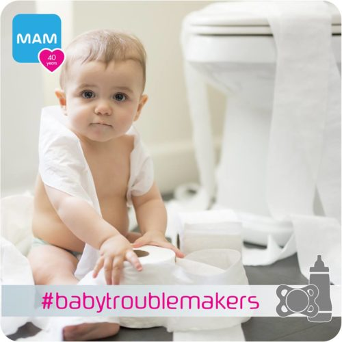 #babytroublemakers MAM Contest