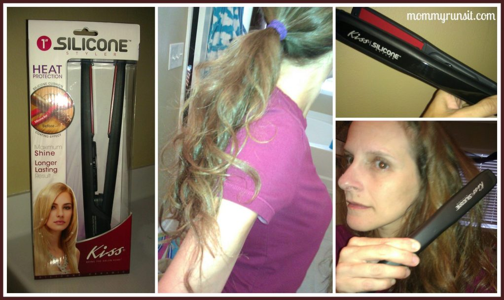 Flat Iron Review: Kiss Silicone Styler
