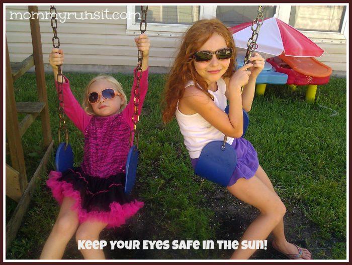 Winter Running Gear - Keeping Your Eyes Safe | Mommy Runs It