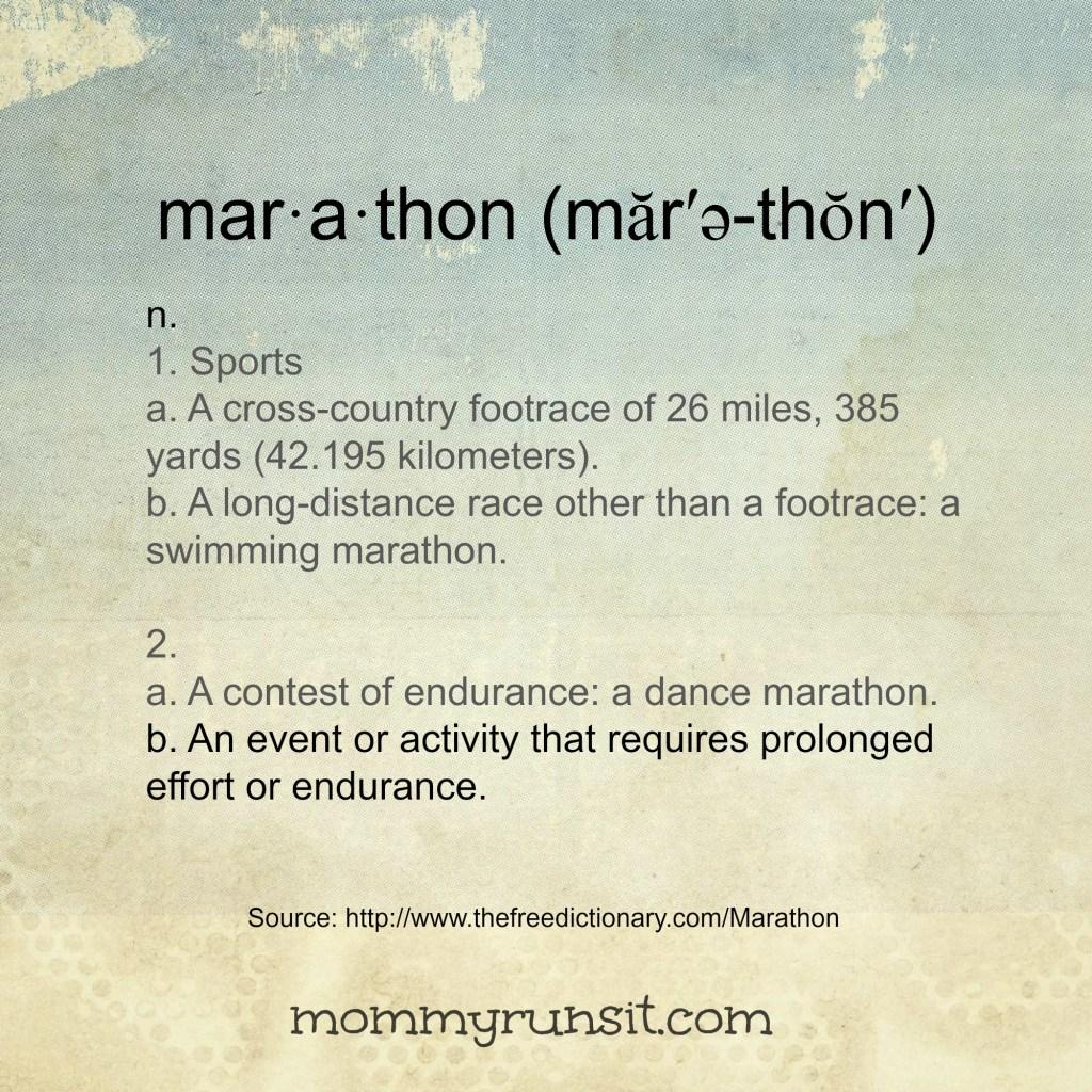 Training Run, Marathon, or Both?