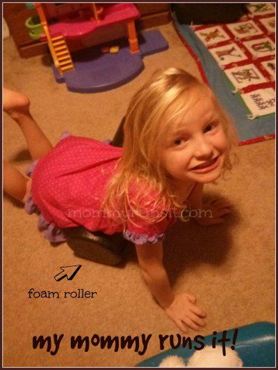 Wordless Wednesday | Runner Girl | Mommy Runs It