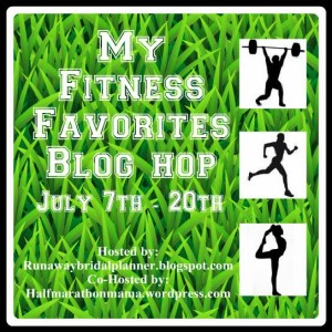My Fitness Favorites Blog Hop | Mommy Runs It