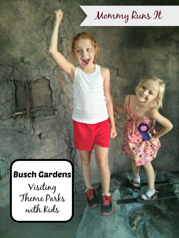 Visiting Theme Parks with Kids | Busch Gardens | Mommy Runs It