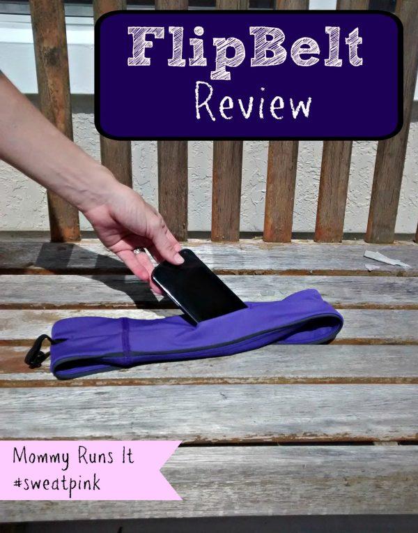 FlipBelt Review | Mommy Runs It #sweatpink