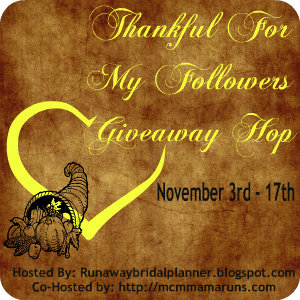 Thankful for My Followers Blog Hop | Mommy Runs It