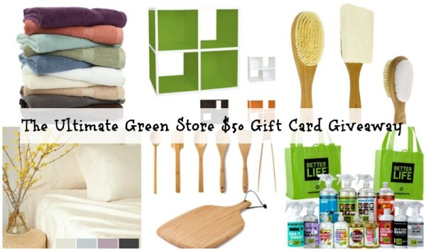 The Ultimate Green Store Giveaway | Eco-Friendly Gifts | Mommy Runs It