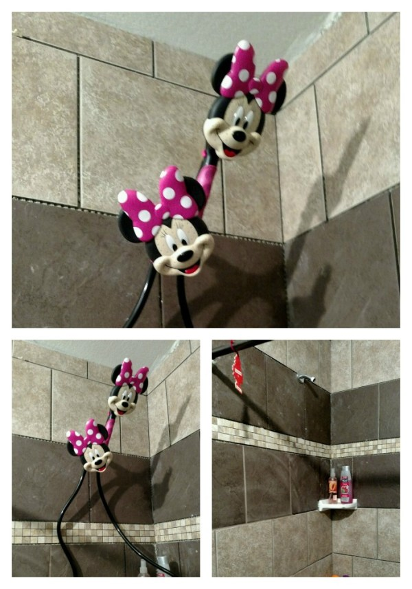 Mickey & Minnie Showerheads | Mommy Runs It  #2014HGG